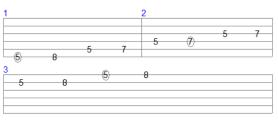 Satriani-Vai styles - Joe Satriani style - part 1